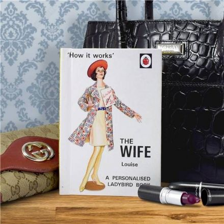 The Wife - How it Works Personalised Ladybird Book